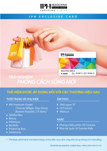 exclusive card flyer  - 2602-01